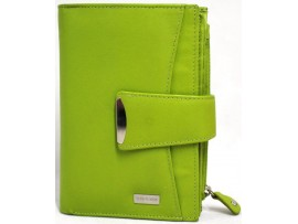 Quality Full Grain Cow Hide Leather Purse. RFID. Style No: 27056.