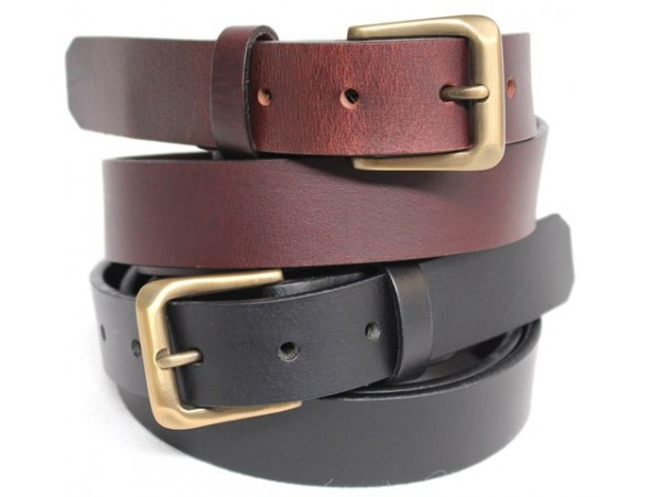 Full Grain Genuine Leather Belt. Width: 30 mm. Style: 41008 & 42008.