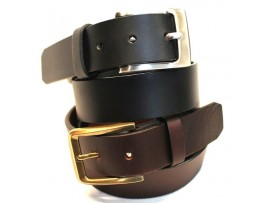 Full Grain Leather Belt. Black & Brown  Width: 35mm. Style No: 41012 & 42012