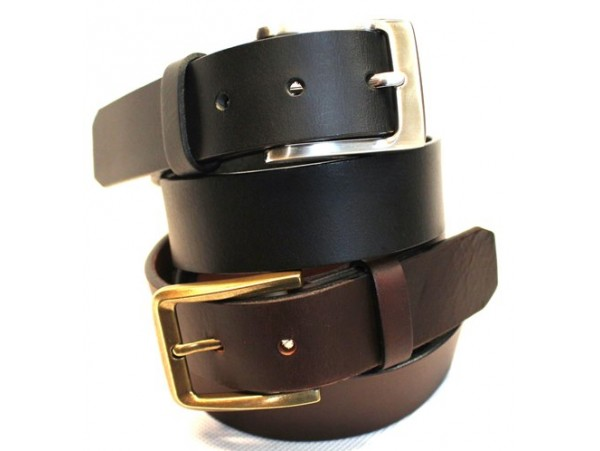 Full Grain Leather Belt. Width: 35mm. Style No: 41012.