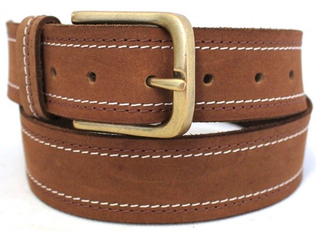 new quality genuine grain leather classic mens