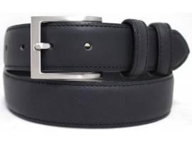 Genuine Full Grain Leather Quality Men's Matte Finish Belt. Style No: 41020.