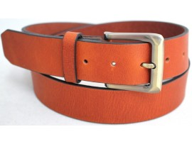 Full Grain Genuine Leather Belt. Width 38 mm. Colour: Tan. Style No: 43004. COMING SOON.