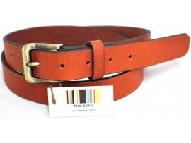 Full Grain Genuine Leather Belt. Width: 30 mm. Colour: Tan. Style No: 43008. COMING SOON.