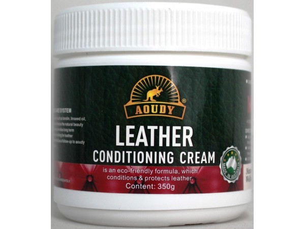 Leather Care Conditioning Cream. Australian Made.