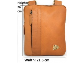 Quality Full Grain Cow Hide Leather Shoulder Bag. Colours: Tan, Green, Grey, Blue.Style 81014