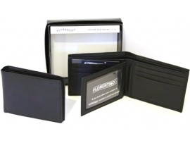 RFID Lined Cow Hide Leather Wallet. Style 11002 Black 12002 brown