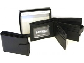 RFID Quality Full Grain Cow Hide Leather Wallet. Style 11004