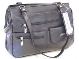 Multi-compartment Handbag. Colour Navy. Style:4291 Navy