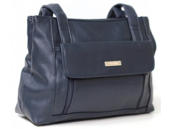Multi-compartment Handbag. Colour: Black. Style No: 5381 NAVY