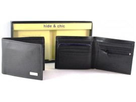 RFID Quality Full Grain Cow Hide Leather Wallet. 11022