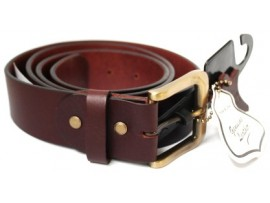 Full Grain Cow Hide Leather Belt. Width 38mm. Style 42004