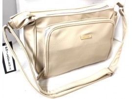 Multi Compartment handbag. Colour: Bone. 6498
