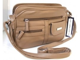 Multi-compartment Handbag Adjustable Shoulder Strap. 6361